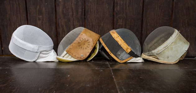 Antique Fencing Masks