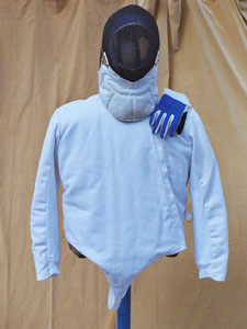 Competition Fencing Gear (Mask, Glove, & Jacket)